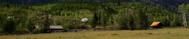 Ranch in rural Wyoming