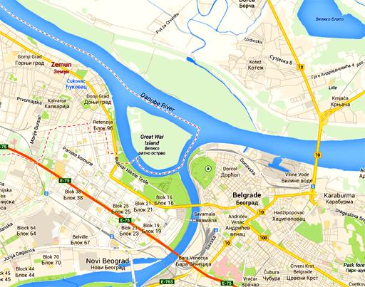 Zemun and Belgrade