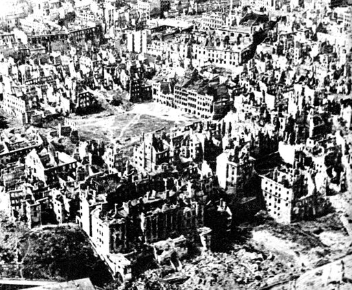 From Wikipedia: After the Warsaw Uprising, 85% of the city was deliberately destroyed by the German forces.