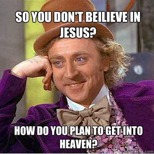 JesusGetToHeaven