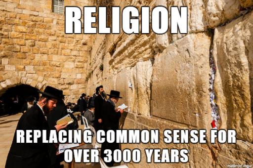 ReligionReplaceCommonSense