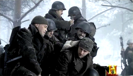 Easy Company plans the attack