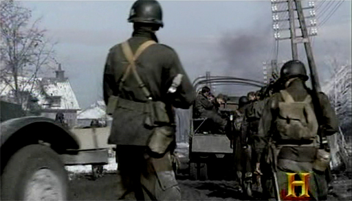 The 101st pulls out of Bastogne
