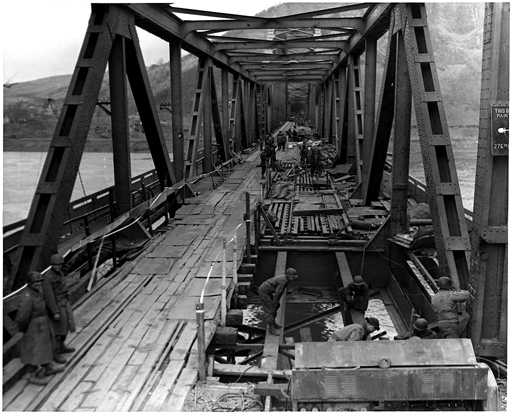 From Wikipedia: The Allied capture of the bridge at Remagen was the beginning of the end for Model.