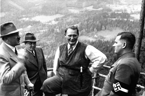 Hitler, Göring und v. Schirach auf Obersalzberg