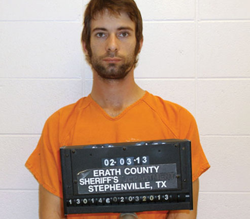 "This undated photo provided by the Erath County Sheriff's Office shows Eddie Ray Routh, who was charged with killing former Navy SEAL and ""American Sniper"" author Chris Kyle and his friend Chad Littlefield at a shooting range southwest of Fort Worth, Texas, on Saturday, Feb. 2, 2013. (AP Photo/Erath County Sheriff's Office, File)"