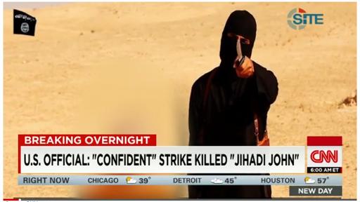 JihadiJohnKilled