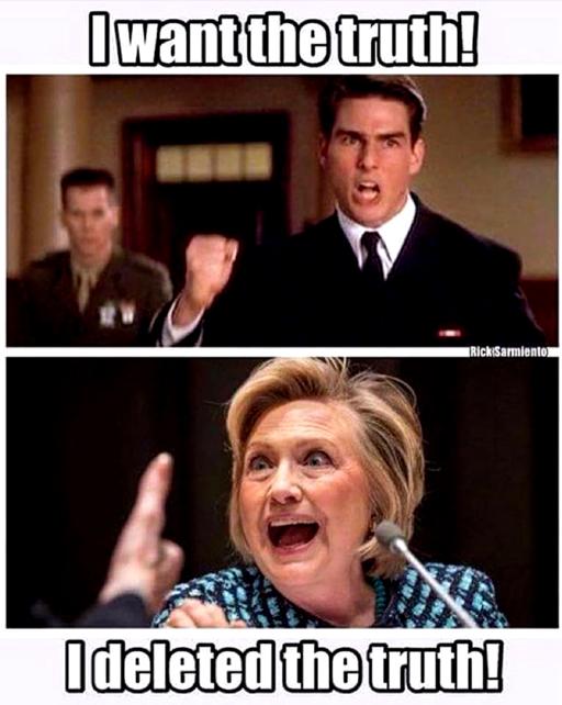 HillaryDeletedTheTruth