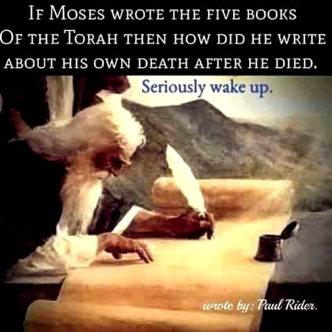 Religion-MosesWroteTorahDead