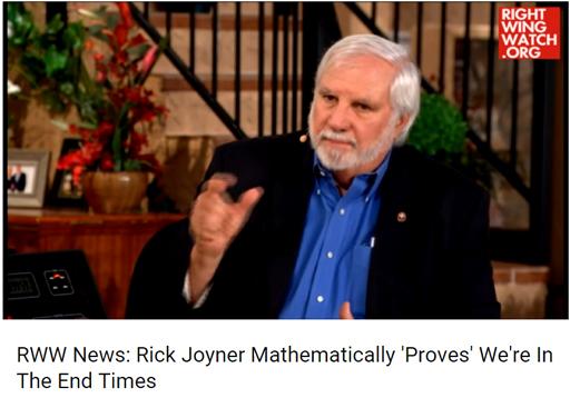 Religion-RickJoynerEndTimes
