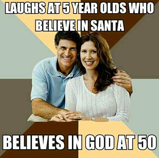 Religion-LaughAtSantaClaus