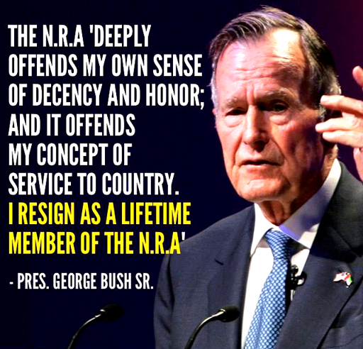Guns-GeorgeHWBush