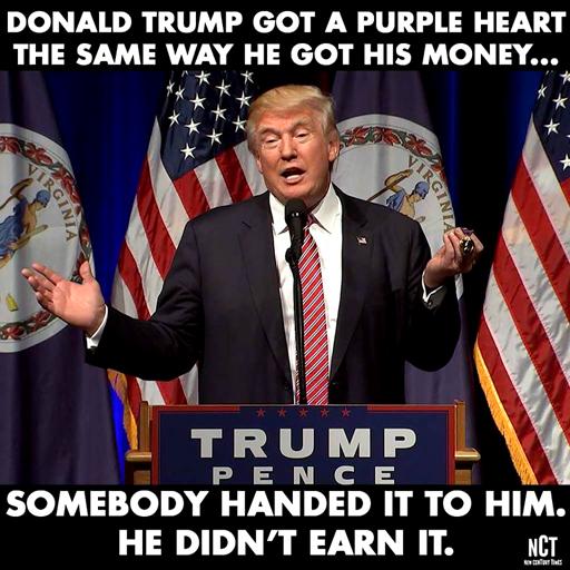 Politics-TrumpPurpleHeart