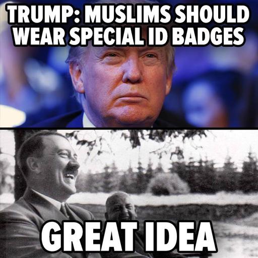 Politics-TrumpHitlerSpecialBadges