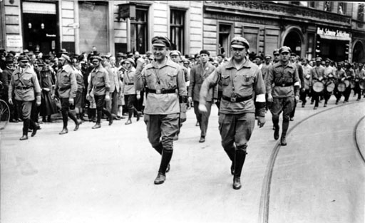 Communists march in Berlin (Wikipedia)