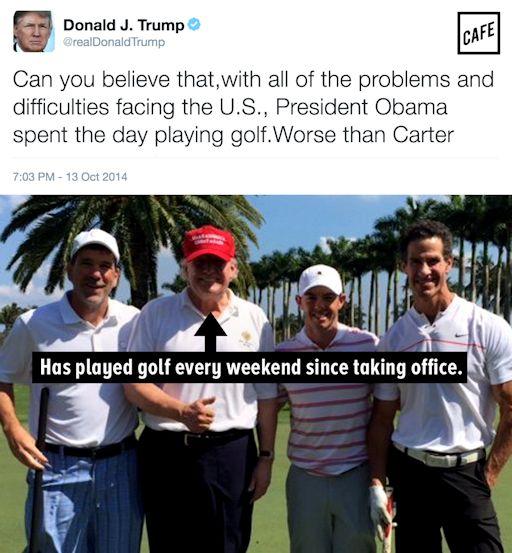politics-trumpplaygolf