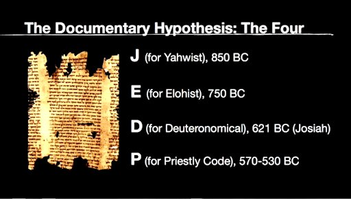 The Documentary Hypothesis: The Four